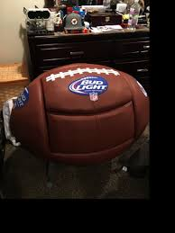 photo 3 of 7 bud light chair 3 bud light nfl super bowl chair and footrest cooler in delran