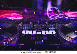 dj mixer headphones nightclub stock photo 105139916 shutterstock moscow 21 2016 dmc dj event in nightclub headliner dj kentaro