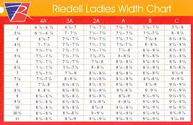 Riedell Sizing Chart