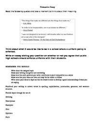 persuasive essay idea eoc persuasive essay prompts for staar