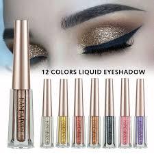 ORI <b>HANDAIYAN</b>   <b>12 color</b> Diamond <b>liquid</b> eyeshadow soft riotous ...