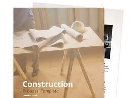 Construction Proposal Template | Proposable