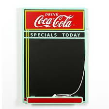 Chalkboard In Kitchen Coca Cola Specials Today Diner Chalkboard Coke Kitchen Decor