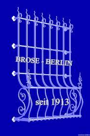 Zaun Gitter Geländer Leuchten Schmiedeeisen Brose In Berlin Seit 100