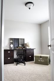 restoration hardware office. masculine restoration hardware inspired office (on a budget) | blesserhouse.com