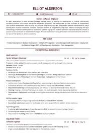 Senior Software Engineer Resume Sample By Hiration
