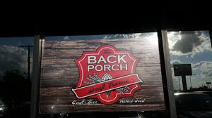 Menu Picture of Backporch Draft House Lawton TripAdvisor