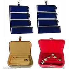 atorakushon 2 ring 2 earring jewellery jewelry box vanity case makeup kit pouch organizer