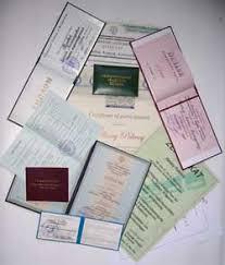 Купить Дипломы Аттестаты Рефераты Курсовые Цены Все изготовленные документы вносятся в реестр Министерства Образования
