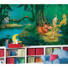 Disney Bedroom Decorations New Xl Lion King Wall Mural Disney Wallpaper Decor Lions Bedroom