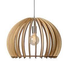 Scandinavisch Hanglamp Bounde Hout Woonhomenl Woonhomenl