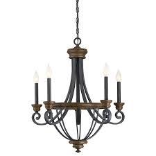 savoy house 1 2050 5 68 wickham 5 light chandelier in whiskey wood