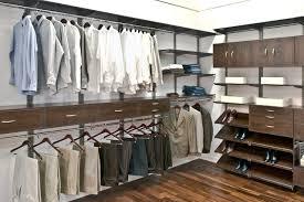 Organized Living freedomRail Men's Walk-In Closet contemporary-closet