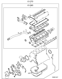 With 4g64 engine their gasket seem have some similar items with the mitsubishi galant rvr 2 4 but have some extra manifold seal pare to it in the