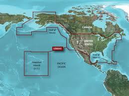 Garmin Bluechart G2 Charts Garmin Bluechart G2 Hd X Large U S All Canadian West Coast