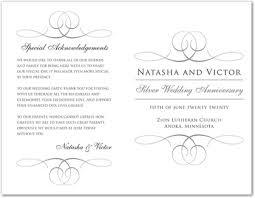 Grey Overlapping Calligraphy Wedding Program Template Downloadble