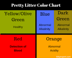 Cat Color Chart Pretty Litter Reviews And Explaining Pretty Litter Colors