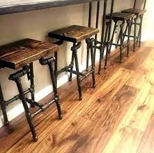 pipe bar stools black pipe bar stool sports twitter diy pipe bar stool plans