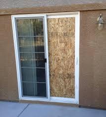how to fix a sliding glass door frame designs