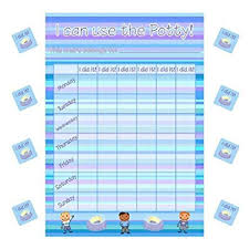 Weekly Girl Potty Training Chart 70 Stickers Children Behavour Parent Kid By School Stickers