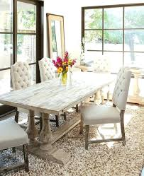 distressed pine dining table rustic distressed