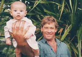 steve irwin son. bindi and terri honor steve irwin on 10th anniversary of his death son