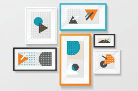 arranging and grouping wall pictures
