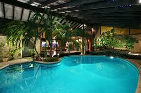 delightful designs ideas indoor pool. Design Ideas: Pygmy Date Palms At The Edge Of Pool Usher In Tropical Style Delightful Designs Ideas Indoor