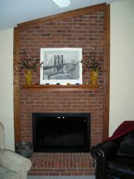 diy brick fireplace remodel e2 80 94 home office interiors