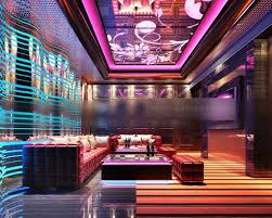 bar club sofa furniture interior 3d
