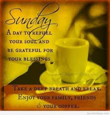Good Morning And Happy Sunday Quotes