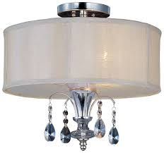 maxim 24301clbspn montgomery small 3 light drum semi flush mount ceiling light fixture loading zoom