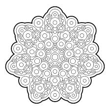 Bubbly Mandala Coloringadult Coloringcoloring Books Pyrographytablematzentangleswaterfallcirclescolor