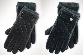 Smell the Glove – Best looking affordable gloves Winter 2013/14 & Quilted Leather: Ralph Lauren Racing Gloves – $69.99 ($88) Adamdwight.com