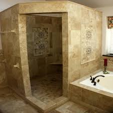 bathroom luxury brown design idea with awesome tile wall home open shower designsopen designs smallmopen 100