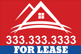 for lease sign template for sale yard sign san diego for rent yard signs opening house