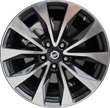 Nissan Maxima Bolt Pattern Delectable ALY488U488HH Nissan Maxima Wheel Charcoal Machined 488RA48E
