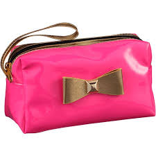 walmart holiday 2016 cosmetic bag pink and black leopard print in on alibaba