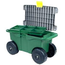 step2 garden kneeler and seat garden new pure garden polypropylene plastic storage scooter outdoor garden carts
