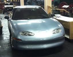 road trip outtakes 1997 gm ev1 who put the electric car in the this was an incredible for me personally as this is a car i never expected to see in person and especially not in the basement of a small town museum