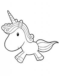 Kawaii Coloring Pages Coloring Pages Unicorn Coloring