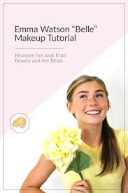 i finally created a belle makeup tutorial emma watson style for my you