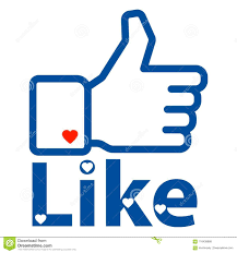 Like Us On Facebook Vector Like Us On Facebook Hand Editorial Stock Photo Illustration Of