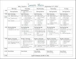 Preschool Teacher Lesson Plan Example Download Teachers
