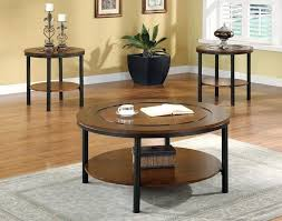 applicable coffee table sets clearance round