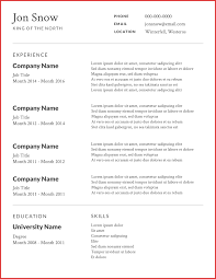 Free Resume Templates 2016 Beautiful Free Cv Templates formal letter 85
