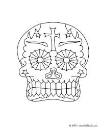 Mexican Day Of The Dead Coloring Pages Coloring Pages Printable
