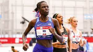 Athing Mu wins the women's 800m in her ...
