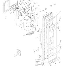 Hotpoint refrigerator parts diagram beautiful enamour this diagram ge wrx refrigerator d er assembly for your