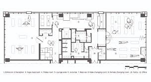 Yoga Studio,Floor Plan